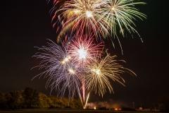 Woodward Iowa fireworks