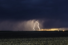 Burlington Colorado lightning