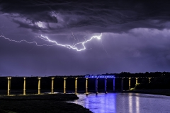 Lightning High Trestle Train Bridge