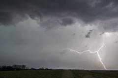 Luther Iowa lightning