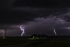 Madrid multiple lightning-