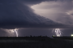 West Texas lightning