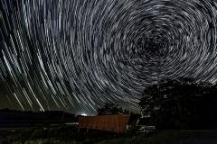 Hogback bridge star trail