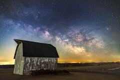 milky way barn Iowa