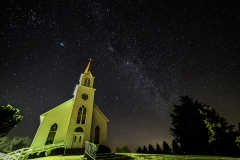 church and milky way-1608