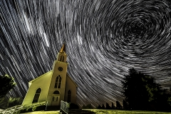 Country church star trail Boone Iowa