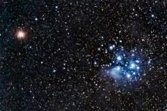 mars Pleiades conjunction