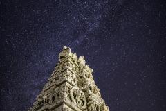 milky way hindu temple
