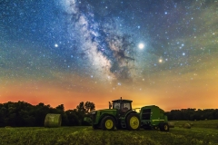 milky way tractor Iowa farm