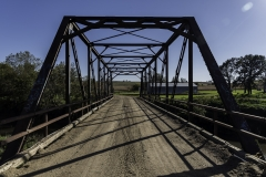 Iowa iron truss bridge