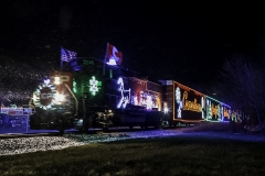 Canadian holiday train