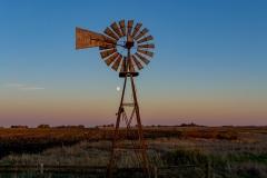 windmill sunset Boone Iowa