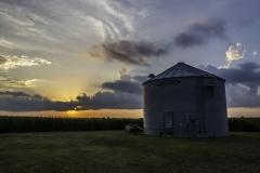 silo sunset 7-24-15-0286