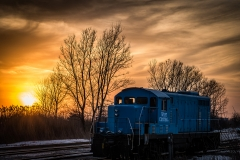 sunset and train 2-6762