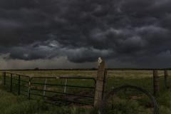 Oklahoma gate thunderstorm