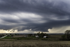 SW Iowa wall cloud 2-9911