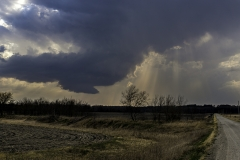 Iowa wall cloud
