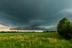 Seneca Missouri supercell thunderstorm