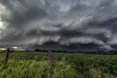 approaching storm southern iowa