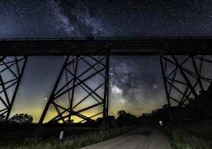 Kate Shelly Bridge milky Way private workshops