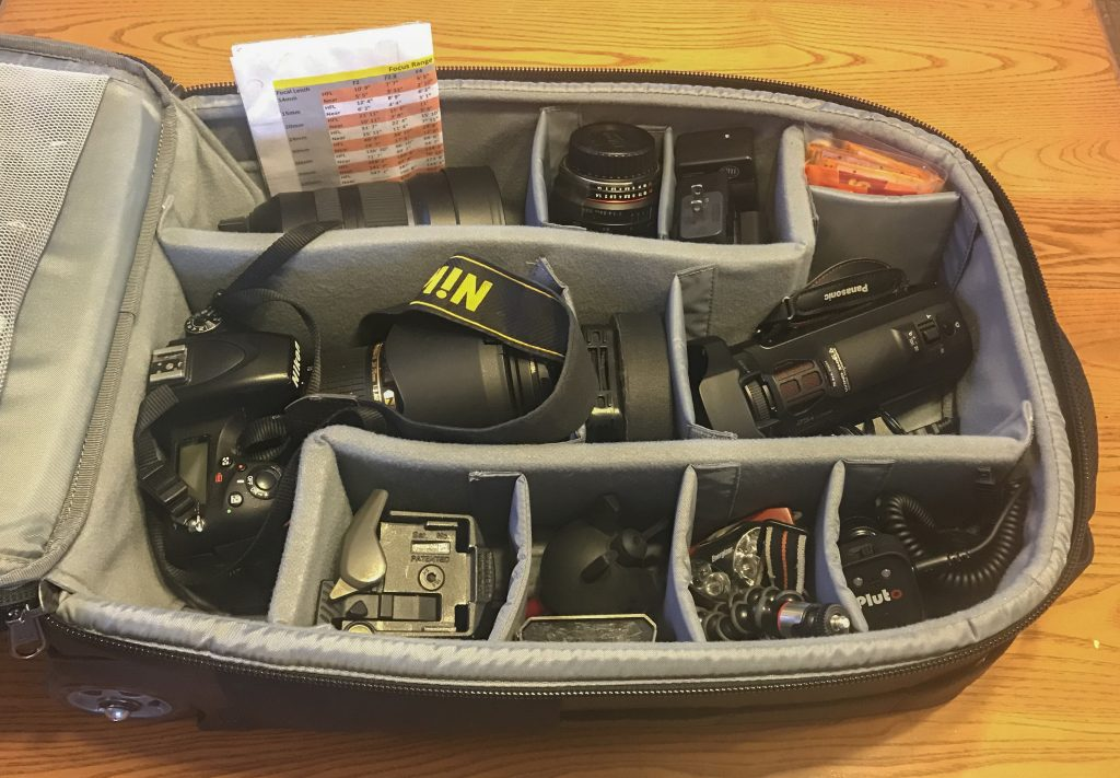 camera bag storm chase storm chasing photography gear