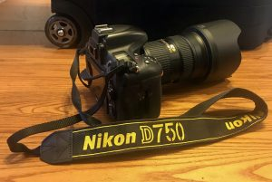 nikon D750 camera lens storm chasing photography gear
