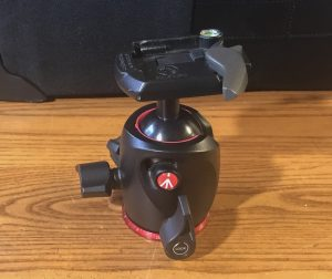 tripod manfrotto ball head