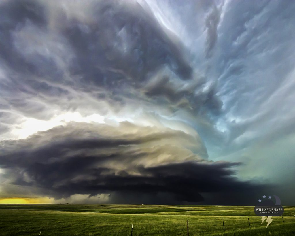 supercell Kansas weather
